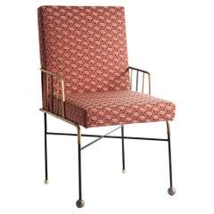 Red Retro Chair by Sema Topaloglu