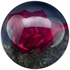 Red Rose Paperweight