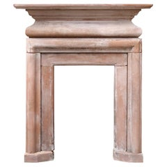 Red Sandstone Fire Surround