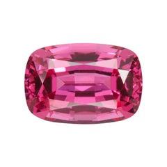 Red Spinel Ring Gem 1.33 Carat Rectangular Cushion Loose Unset Gemstone