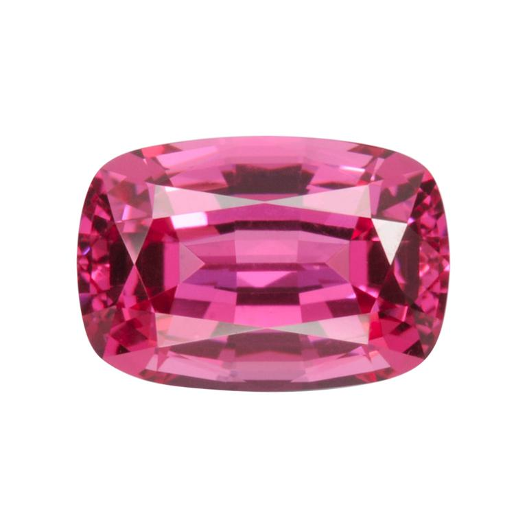 Red Spinel Ring Gem 1.33 Carat Rectangular Cushion Unset Loose Gemstone For Sale