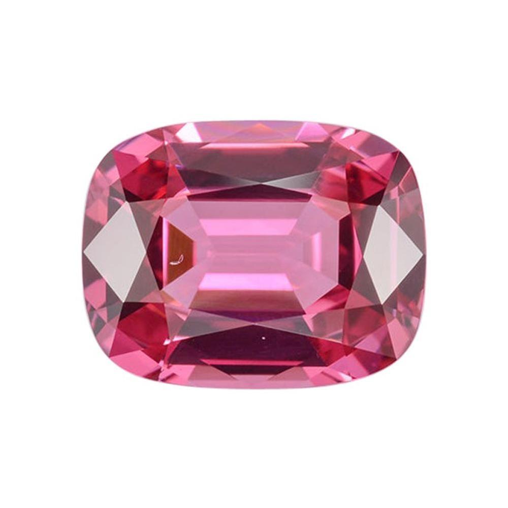 Red Spinel Ring Gem 1.75 Carat Cushion Loose Gemstone