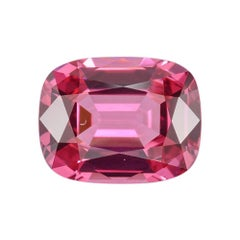 Red Spinel Ring Gem 1.75 Carat Cushion Loose Gemstone