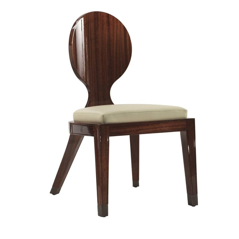 Modern Red Sun Dining Chair by Fratelli Boffi For Sale