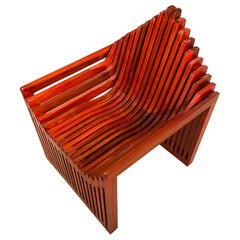 Red Teak Fabri Accent Chair