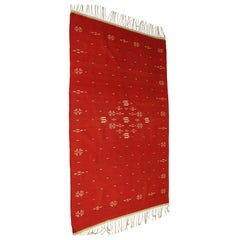 Red Texcoco Blanket, circa 1930s