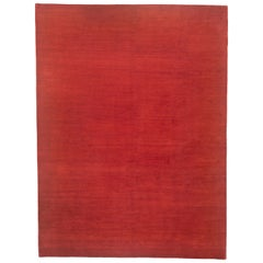 Red Wool Area Rug