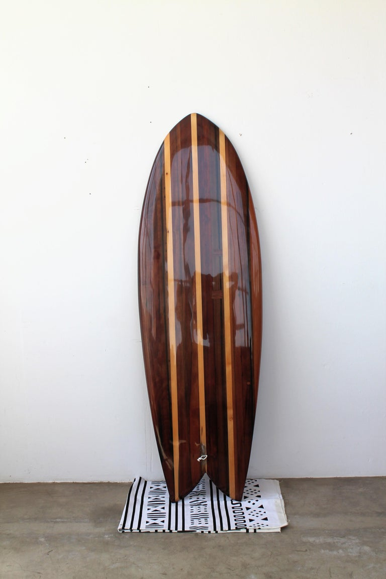 Being a surfer in New York City can be a bummer, but it does have its advantages. One that many overlook is the abundance of high quality lumber for surfboard building. Redwood is nearly impossible to come by on the east coast, however NYC and its