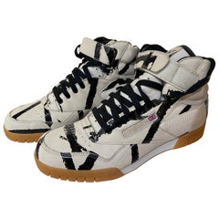 Reebok x Basquiat Sneakers Collection, Black & Beige, 2004