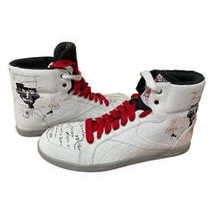 Reebok x Basquiat Sneakers Collection – White & Red, 2012