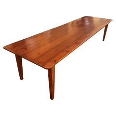 Refectory Table of 3m50 Long from the 19th Century