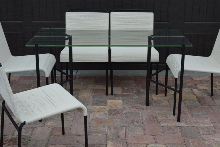 Refectory Table with Glass Shelves by Van Keppel-Green, Early 1950s For Sale 3