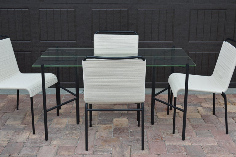 Refectory Table with Glass Shelves by Van Keppel-Green, Early 1950s For Sale 5
