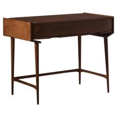 Refined Oak Desk, 1960s
