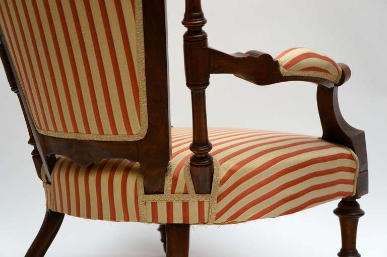 Refined Set of Two Victorian Low Chairs For Sale 1