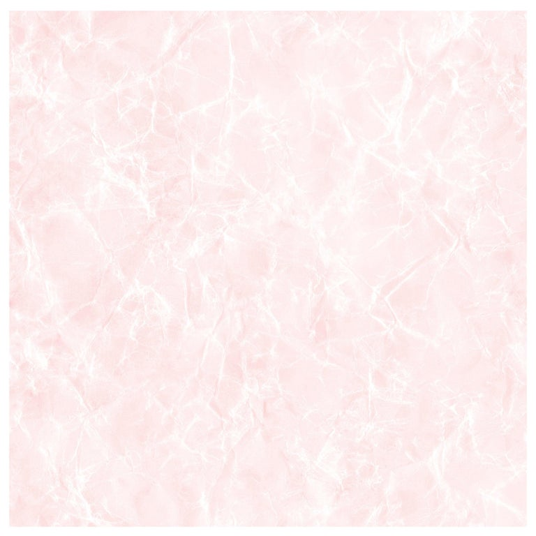 Reflection Wallpaper in Rose Quartz Color-Way on Smooth Paper For Sale
