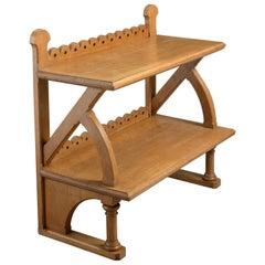 Reformed Gothic Oak Side Table