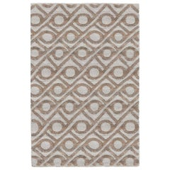 Refreshingly Bold Customizable Shapes Weave Rug in Flint Large