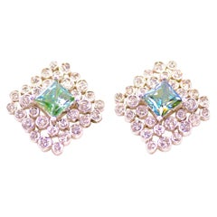 Regal Diamond Large Earrings