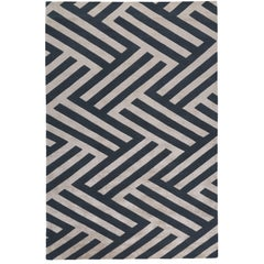 Regalia Hand-Knotted 10x8 Rug in Wool and Silk by Vivienne Westwood