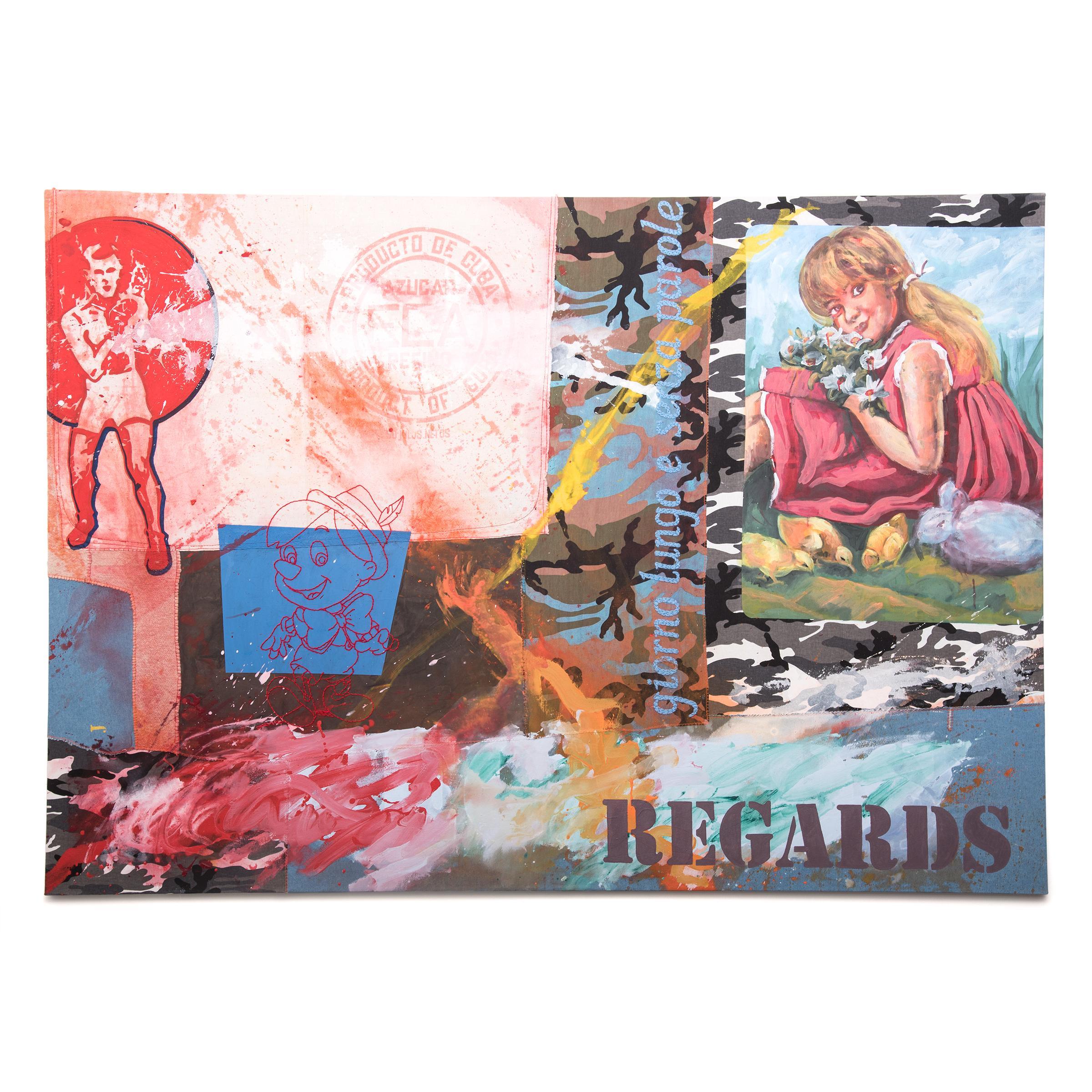 """""""Regards"""" by Almudena Rodriguez"""