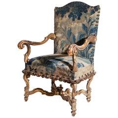 Régence Armchair, 18th-19th Century