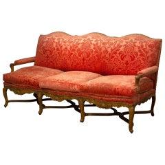 Regence Beechwood Canape 'Sofa'