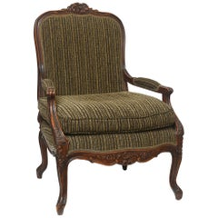 Fauteuil in the French Regence Style- Hand Carved