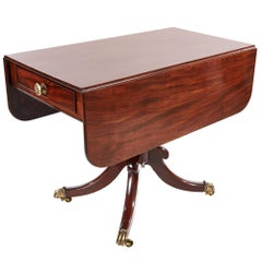 Regency Antique Mahogany Pembroke Table