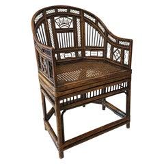 Regency Bamboo Armchair