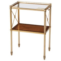Regency Brass Side Table