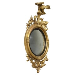 Regency Bull's Eye Mirror Engkand First Quarter, 19th Century