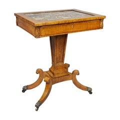 Regency Burr Elm Table
