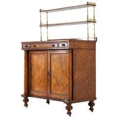 Regency Burr Oak Chiffonier