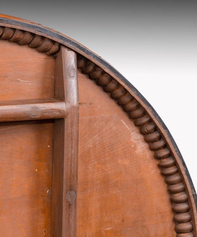 Regency Burr Yew Veneered Centre Table For Sale 2