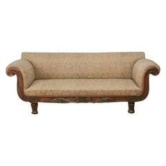 Regency Carved Rosewood Sofa
