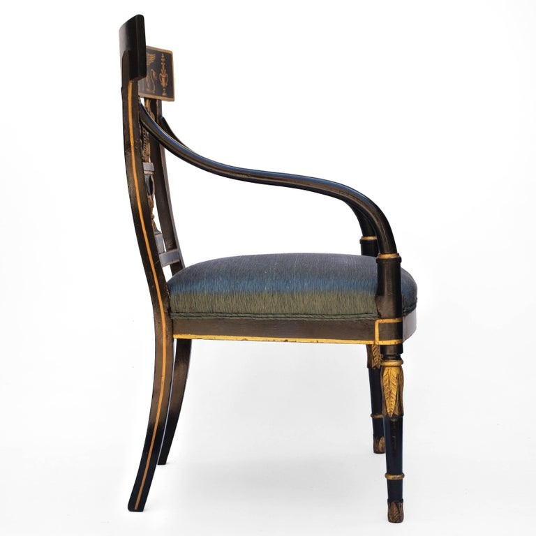 Regency Chair after Sheraton For Sale 10