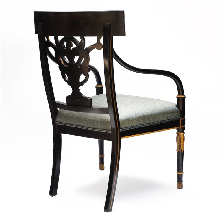 Regency Chair after Sheraton For Sale 12