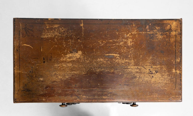 Painted Regency Chest of Drawers
