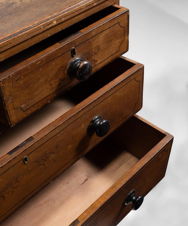 Regency Chest of Drawers In Good Condition In Culver City, CA