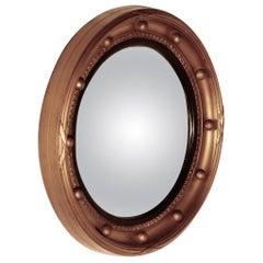 Regency Convex Gilt Wall Mirror