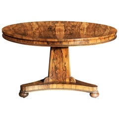Regency Dining Table for Six, England, circa 1820