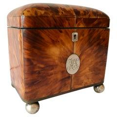 Regency Dome Form Tea Caddy