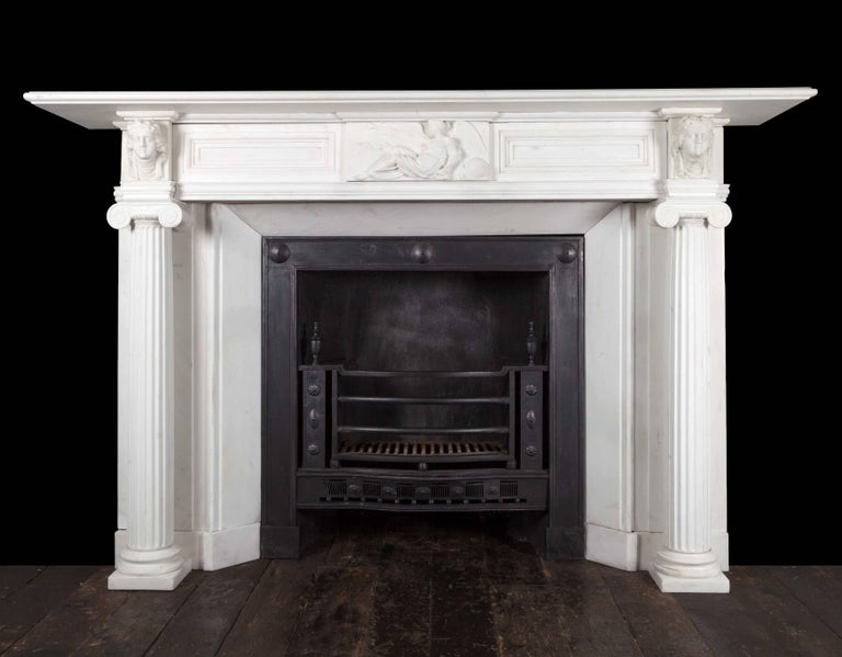Regency Fireplace For Sale 2