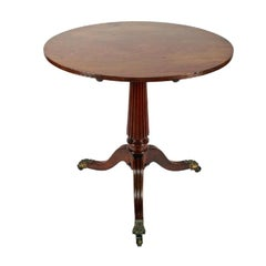 Regency Gillows Design Tripod Table, 19th Century