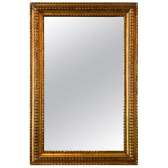 Regency Gilt Carved Mahogany Picture Frame Mirror