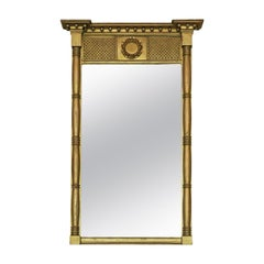 Regency Gilt Overmantle Or Wall Mirror
