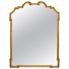 Regency Gilt-Wood Designer Mirror by Randy Esada