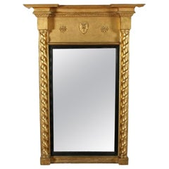 Regency Gilt Wood Pier Glass, 19th Century