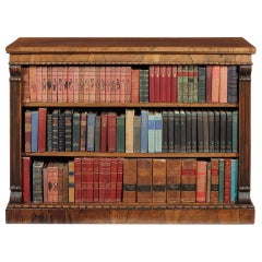 Regency Gonzalo Alves Carved Open Bookcase